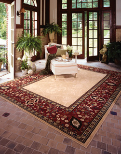 area rugs from Karastan, Milliken, Capel and more!